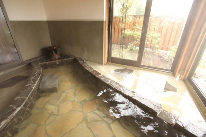 お部屋によって異なる客室風呂