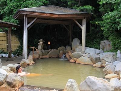 ホテル蘭風露天風呂