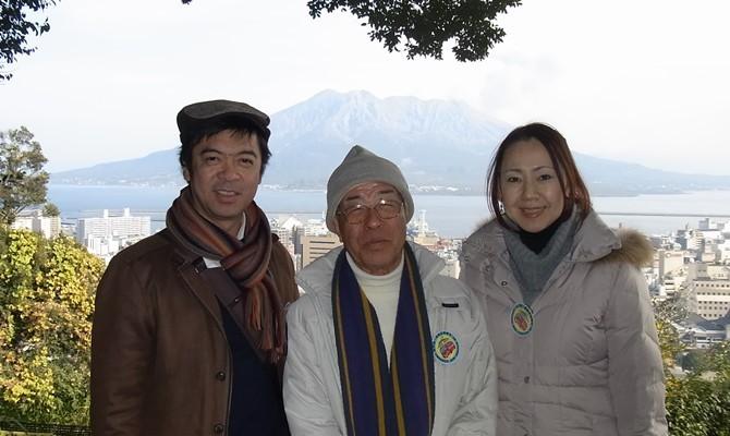 鹿児島への家族旅行