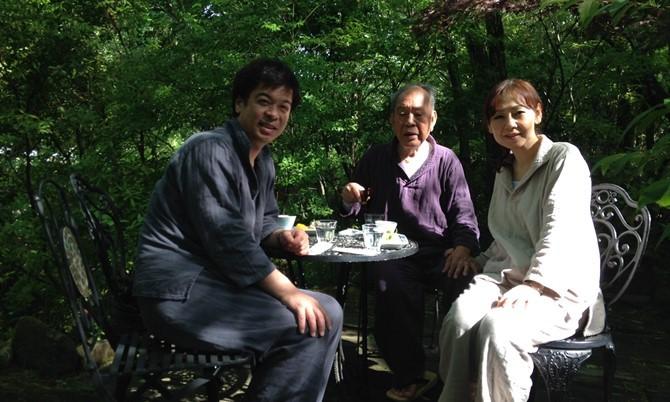 「山荘天水」への家族旅行